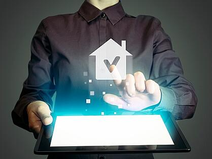 property manager using technology